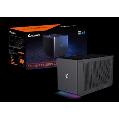 GIGABYTE Externí VGA NVIDIA AORUS RTX 3080 GAMING BOX, RTX 3080, 10G GDDR6X, 3xDP, 2xHDMI