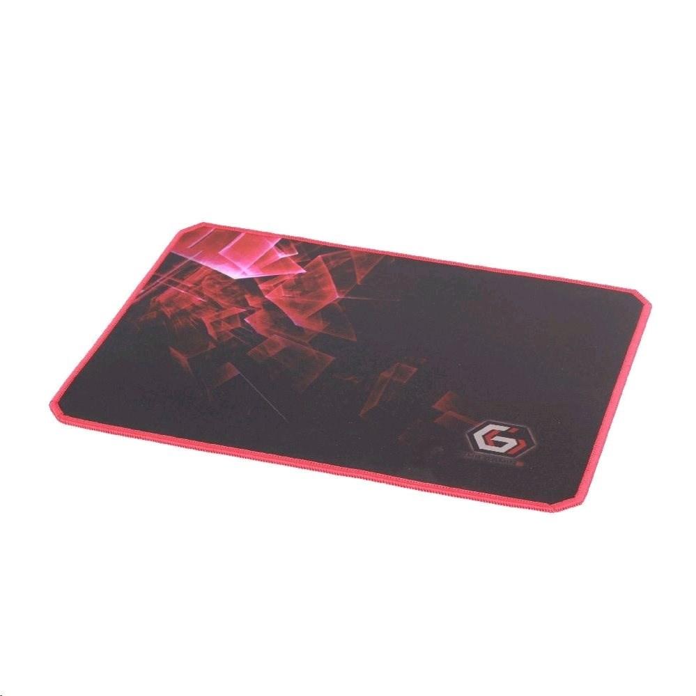 C-TECH herní podložka pod myš látková černá, MP-GAMEPRO-L, 400x450 cm