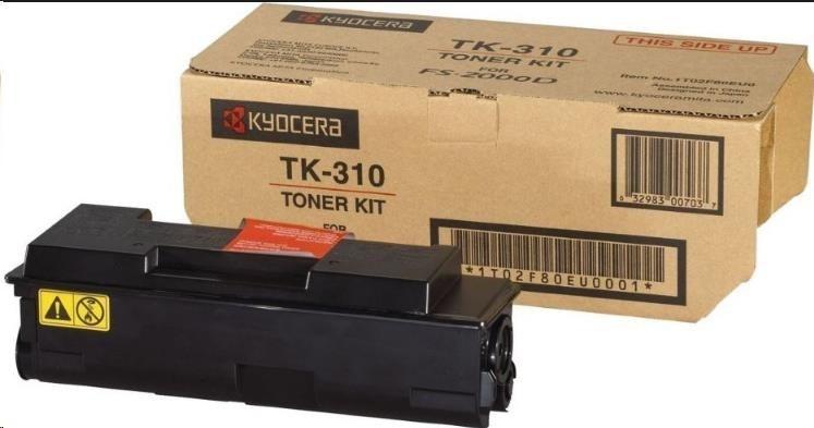 Kyocera toner TK-310 originální toner, black (černý) na 12 000 stran