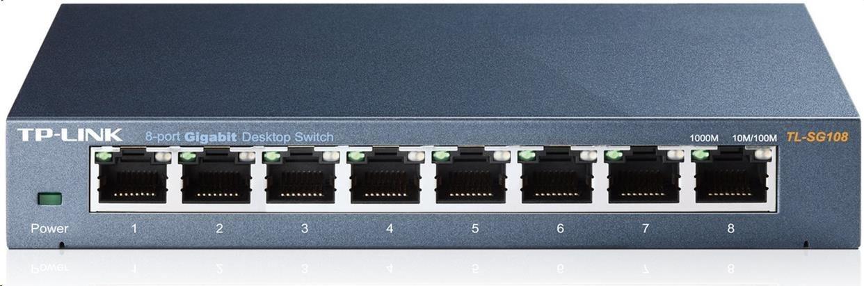 TP-Link TL-SG108 8x Gigabit Desktop Switch