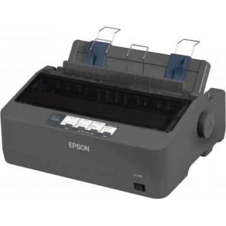 EPSON tiskárna jehličková LX-350, A4, 9 jehel, 347 zn/s, 1+4 kopii, USB 2.0, LPT, RS232