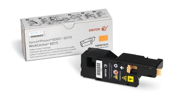 Xerox Toner Yellow pro Phaser 6000/6010 a WorkCentre 6015 (1.000 str)