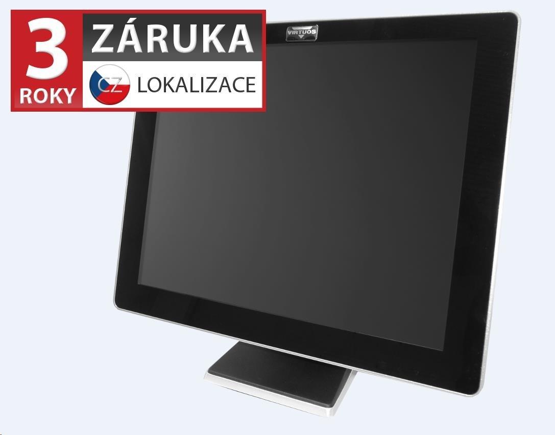 Virtuos 17'' LCD AerMonitor AM-1017, dotykový, rezistivní, USB