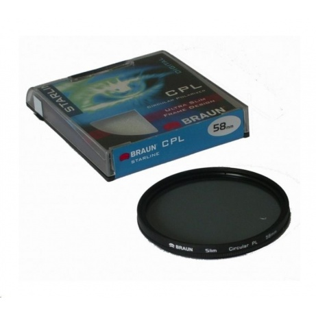 Braun filtr C-PL StarLine 77 mm