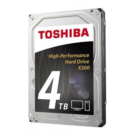 "TOSHIBA HDD X300 4TB, SATA III, 7200 rpm, 128MB cache, 3,5"""