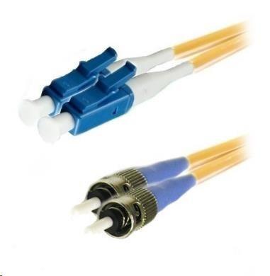 Duplexní kabel 9/125, LC-ST, 1m