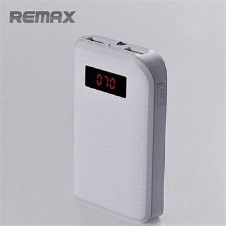REMAX PowerBank 10000 mAh, bílá barva