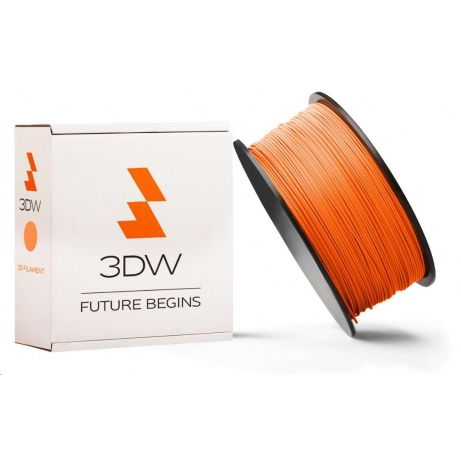 3DW ARMOR - PLA filament, průměr 1,75mm, 1kg, oranžová