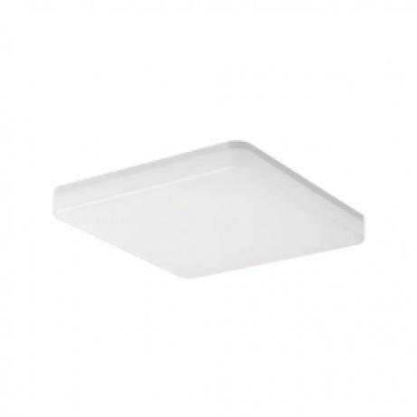 Tellur WiFi Smart LED čtvercové stropní světlo, 24 W, teplá bílá, bílé provedení