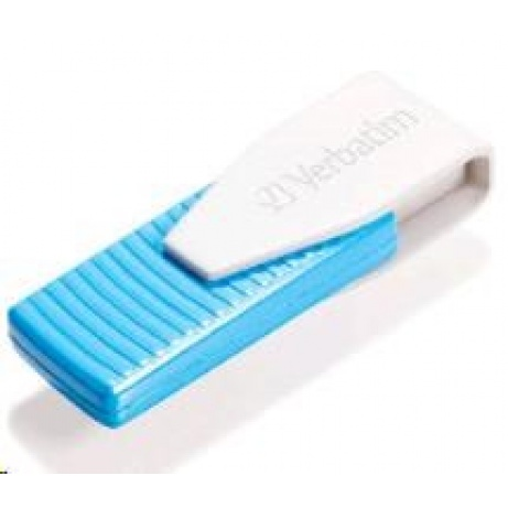 VERBATIM USB Flash Disk Swivel 8GB - karibsky modrá