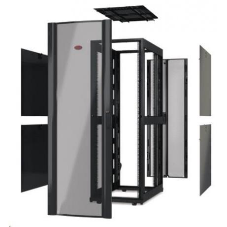 APC NetShelter SX 48U 750mm Wide x 1070mm Deep Enclosure Without Doors, Black