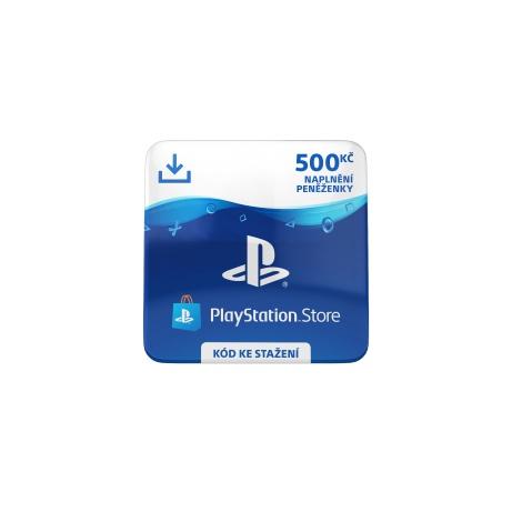 ESD CZ - PlayStation Store el. peněženka - 500 Kč