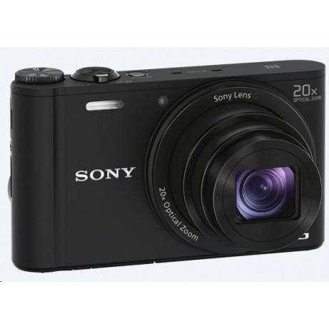 SONY DSCWX220B Cyber-Shot 18.2MPix, 10x zoom, Wi-Fi - černý