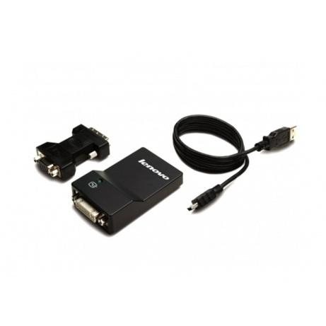LENOVO adaptér USB 3.0 to DVI/VGA Monitor Adapter