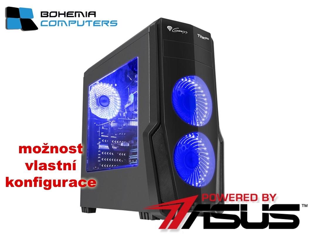 BOHEMIAPC - ASUS herní RYZEN 3 4X3.1GHZ/4GB DDR4/1TB HDD/GT1030 2GB/ POWERED BY ASUS - BCR31200GT10302G
