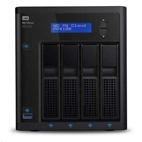 """WD My CLOUD PR 4100, 40 TB (4x10TB) 3,5"""", RJ45, NAS"""
