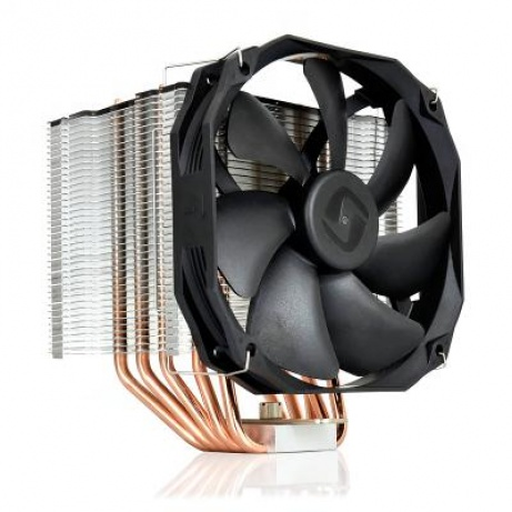 SilentiumPC chladič CPU Fortis 3 HE1425/ ultratichý/ 140mm fan/ 5 heatpipes/ PWM/ pro Intel, AMD