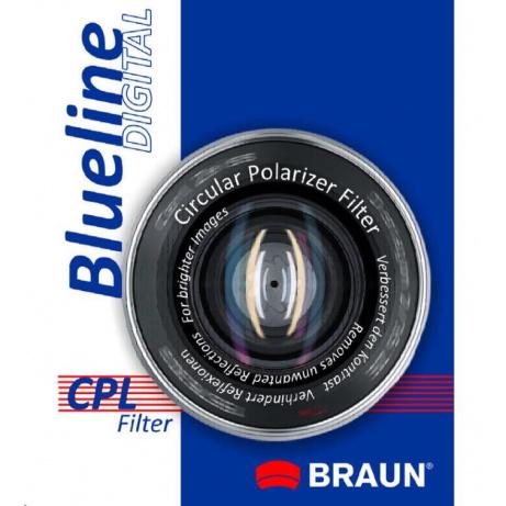Braun filtr C-PL BlueLine 77 mm