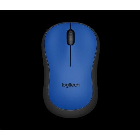 Logitech Wireless Mouse M220 Silent, blue