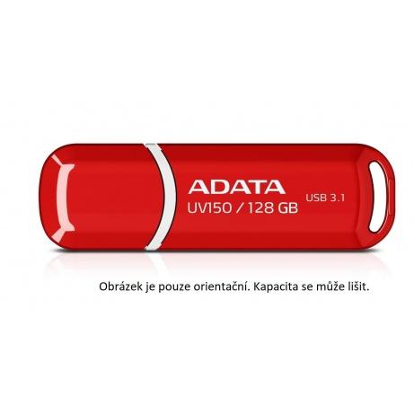 ADATA Flash Disk 64GB USB 3.1 Dash Drive UV150, červený (R: 90MB/s, W: 20MB/s)