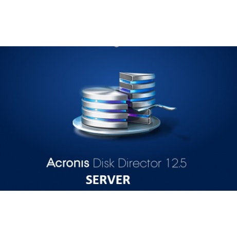 Acronis Disk Director 12.5 Server Technician License, Subscription, 1 Year - Renewal