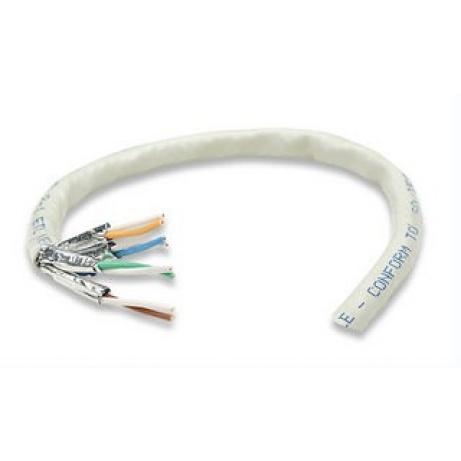 Intellinet FTP kabel, Cat6, drát 305m, 23AWG, šedý