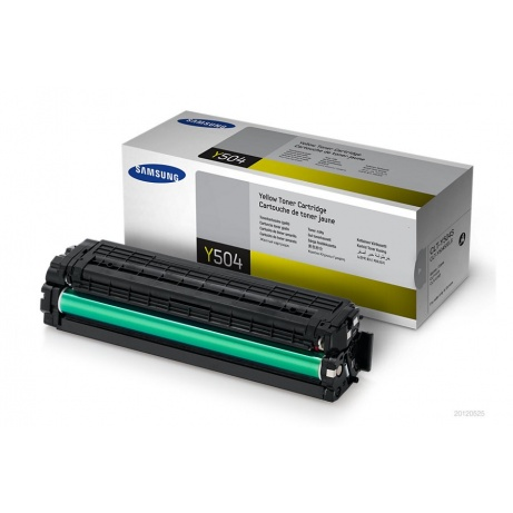 Samsung CLT-Y504S Yellow Toner Cartri