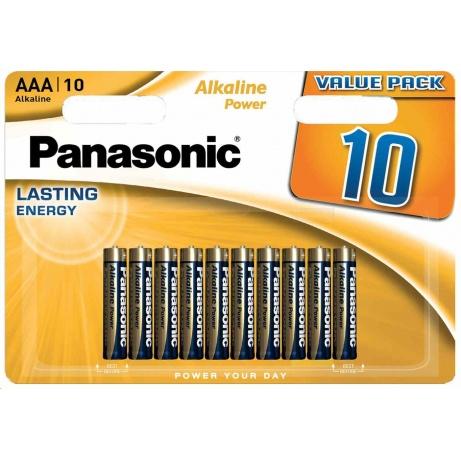 PANASONIC Alkalické baterie Alkaline Power LR03APB/10BW AAA 1,5V (Blistr 10ks)