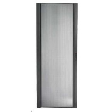 APC NetShelter SX 48U 750mm Wide Perforated Curved Door Black