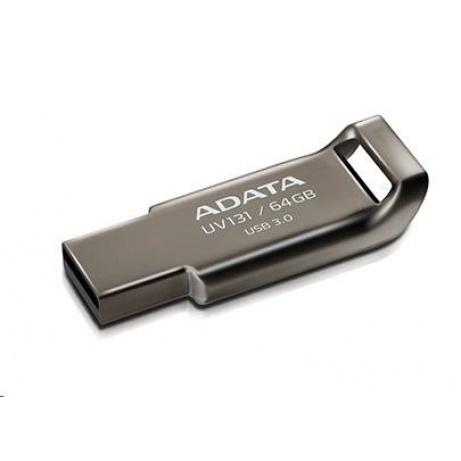 ADATA Flash Disk 32GB USB 3.1 DashDrive UV131, Chromium Grey, kovový