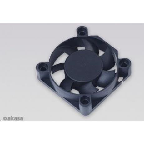 AKASA Ventilátor  AK-4010MS, 40 x 10mm, kluzné ložisko, retail