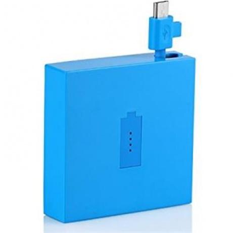 Nokia univerzální přenosný záložní zdroj/powerbank 1720 mAh /nabíječka micro USB (Powerpack) DC-18, azurová - modrá - 02737T6