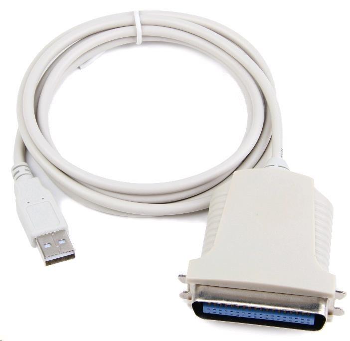 GEMBIRD USB 2.0 aktivní prodlužka, 10m, černá