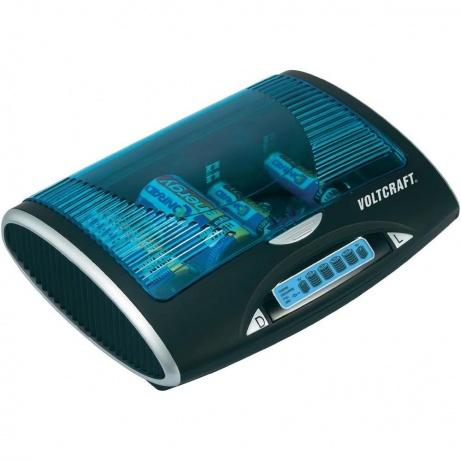 CONRAD Univerzální nabíječka Voltcraft P600 LCD