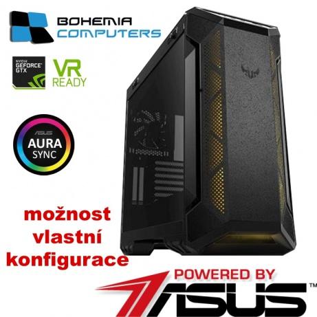 BOHEMIAPC - TOP HERNÍ VODNÍK RYZEN 7 8X4GHZ / 16GB DDR4 / 480GB SSD / TUF RTX 2060 6GB / RGB SERIES  - POWERED BY ASUS - BCR71800XRTX2060RGB