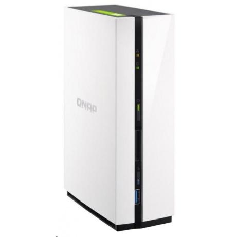 QNAP TS-128A (4C/RTD1295/1,4GHz/1GBRAM/1xSATA/1xGbE/2xUSB2.0/1xUSB3.0)