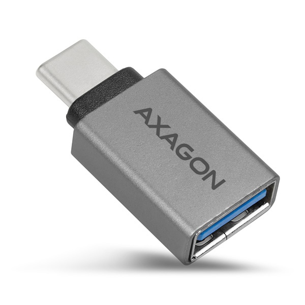 AXAGON RUCM-AFA, USB 3.0 Type-C Male > Type-A Female ALU redukce