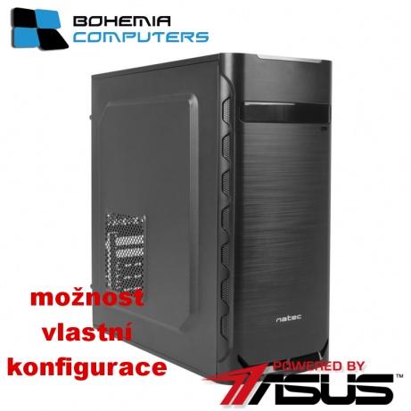 BOHEMIAPC - ASUS počítač Ryzen 3 3200G 4x4GHz, Radeon™ Vega 8 Graphics, RAM 8GB DDR4, 1TB, DVD-RW, bez OS - BCr3200vega8