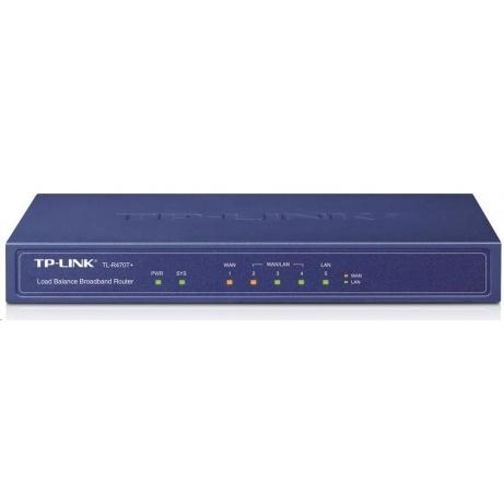 TP-Link TL-R470T+ 5-port Multi-Wan Router, 3xWAN, 4x LAN, Load Balancer