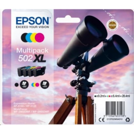 EPSON ink Multipack 4-colours 502XL Ink