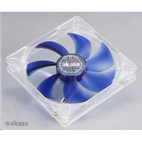 AKASA Ventilátor Emperor Blue, 140 x 25mm, kluzné ložisko