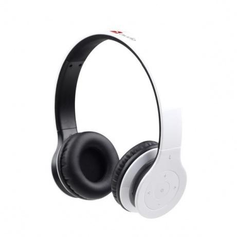 GEMBIRD sluchátka s mikrofonem Berlin, Bluetooth, bílá
