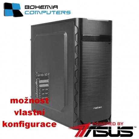 BOHEMIAPC - ASUS herní RYZEN 3 4X3.1GHZ/4GB DDR4/1TB HDD/GT1030 2GB/ POWERED BY ASUS - BCR31200GT10302G2
