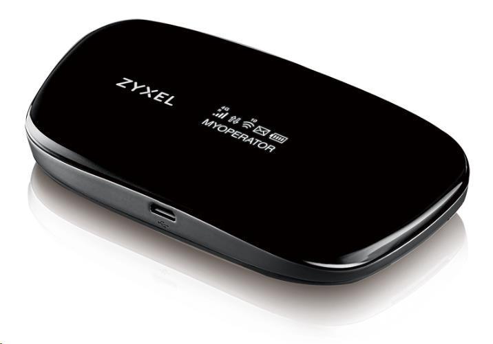 Zyxel WAH7608 Přenosný 4G LTE router, Wireless N300 wi-fi , LTE CAT4/HSPA+/EDGE/GPRS