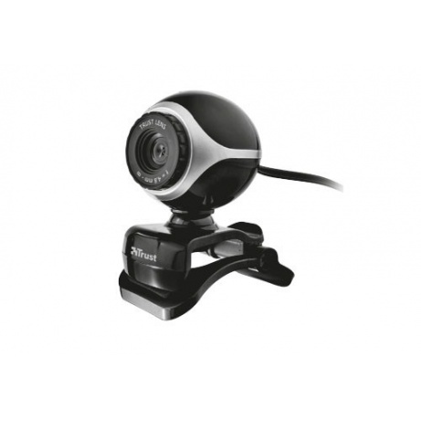 bazar - TRUST Kamera Exis Webcam, USB 2.0_poškozeny obal