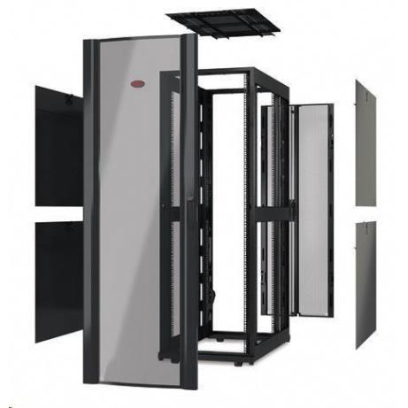 APC NetShelter SX 42U 600mm Wide x 1200mm Deep Enclosure Without Sides, Black