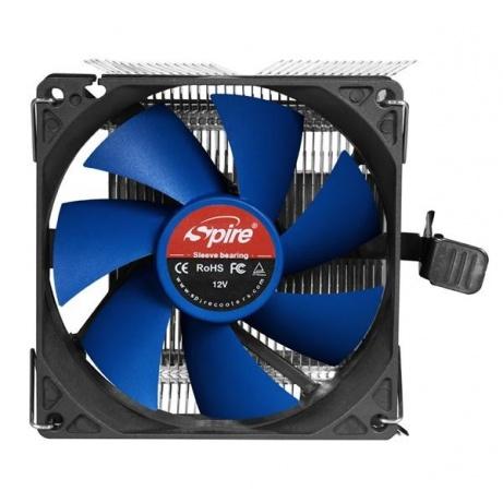 SPIRE CPU chladič Sigor IV PWM, 92x25mm blue impeller fan, 2000RPM, 21dBA