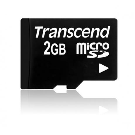 TRANSCEND Micro SD-Card 2GB (bez adaptéru)