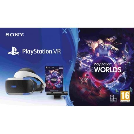 SONY PS4 VR headset + Kamera + VR WORLDS (PSN voucher)