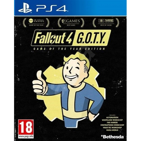 PS4 hra Fallout 4 Goty